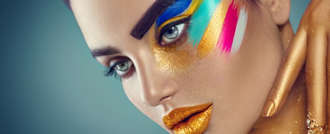 Make-up fashion - beauty trends