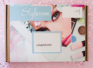 StyleTone box juni 2018 - beauty producten